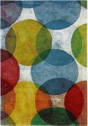 VÄVD MATTA - multicolor, Trend, textil (133/190cm) - Novel