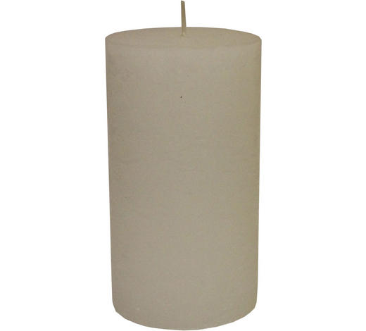 STUMPENKERZE 10/18 cm - Weiß, Basics (10/18cm) - Ambia Home