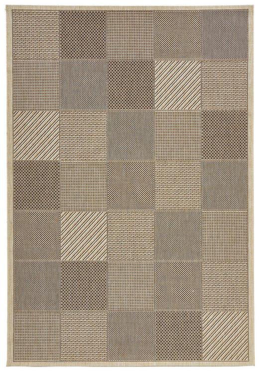 FLACHWEBETEPPICH  160/230 cm  Braun, Naturfarben - Braun/Naturfarben, Basics, Textil (160/230cm) - Boxxx