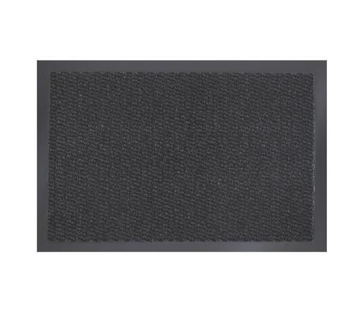 DVEŘNÍ ROHOŽKA, antracitová - antracitová, Konvenční, textil/umělá hmota (40/60cm) - Boxxx