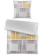POSTELJINA - boje srebra/žuta, Design, tekstil (135/200cm) - Novel