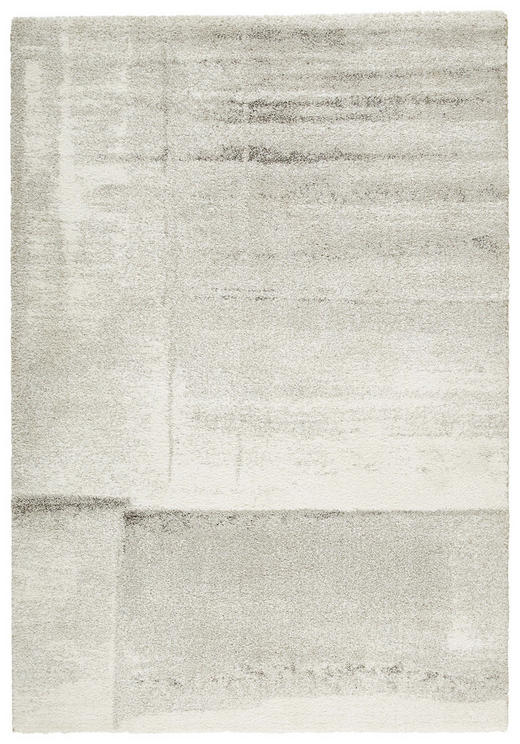 WEBTEPPICH  135/190 cm  Creme, Silberfarben - Silberfarben/Creme, Basics, Textil (135/190cm) - Novel