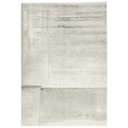WEBTEPPICH - Silberfarben/Creme, KONVENTIONELL, Textil (135/190cm) - Novel