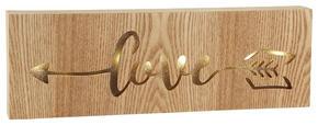 VÄGGDEKORATION - naturfärgad, Lifestyle, träbaserade material (10/30/3,5cm) - Ambia Home