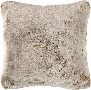PÄLSKUDDE - brun, Basics, textil (48/48cm) - Ambiente