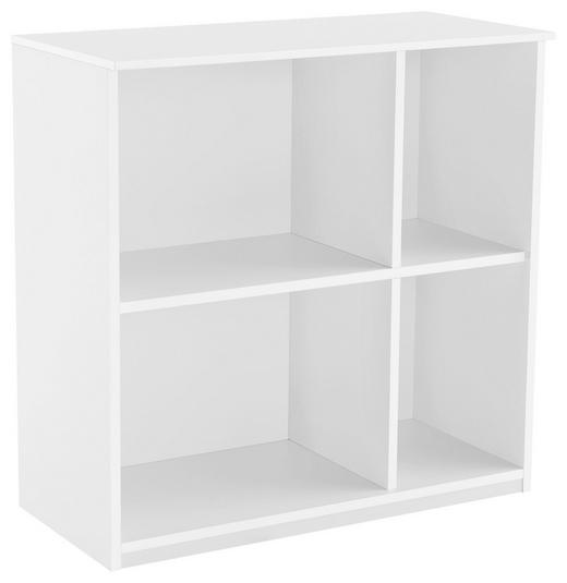 REGAL Weiß - Weiß, Basics, Holzwerkstoff (75/74/35,1cm) - Xora