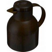 ISOLIERKANNE 1 L  - Dunkelbraun, Basics, Kunststoff (1l) - Emsa