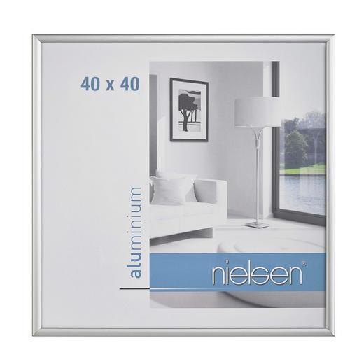 BILDERRAHMEN  Silberfarben - Silberfarben, Metall (40/40cm)