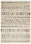 HOCHFLORTEPPICH  60/120 cm  gewebt  Blau, Beige   - Blau/Beige, Basics, Textil (60/120cm) - Novel