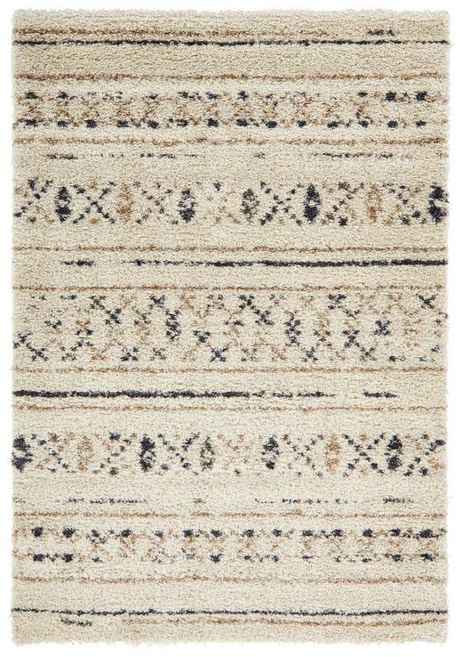 HOCHFLORTEPPICH  80/140 cm  gewebt  Beige, Blau - Blau/Beige, Basics, Textil (80/140cm)