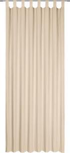 ZAVJESA S OMČAMA - boje pijeska, Konvencionalno, tekstil (135/245cm) - BOXXX