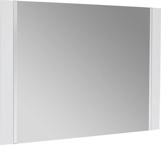 SPIEGEL Weiß - Weiß, Design, Glas/Holzwerkstoff (90/68/2cm) - Novel