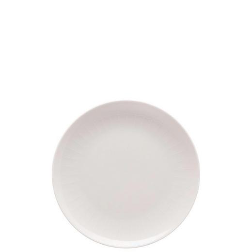 FRÜHSTÜCKSTELLER Keramik Porzellan - Rosa, Basics, Keramik (20cm)