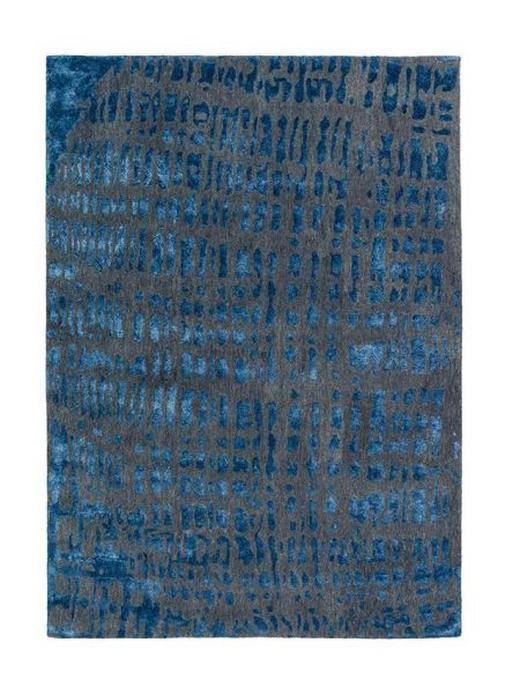 JOOP! CROCO  170/240 cm  Blau, Grau - Blau/Grau, Design, Textil (170/240cm) - Joop!