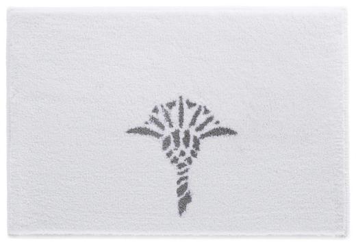 BADTEPPICH in Weiß - Weiß, Design, Kunststoff/Textil (60/90cm) - Joop!