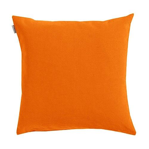 KISSENHÜLLE Orange 50/50 cm - Orange, Basics, Textil (50/50cm) - Linum