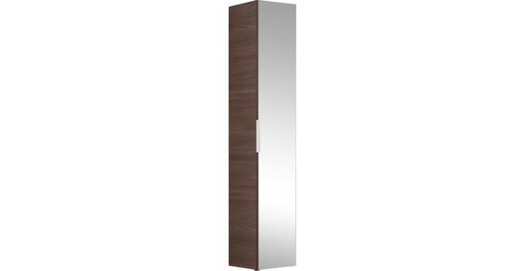 HOCHSCHRANK 30/168/33 cm - Braun, Design, Glas/Holzwerkstoff (30/168/33cm) - Dieter Knoll