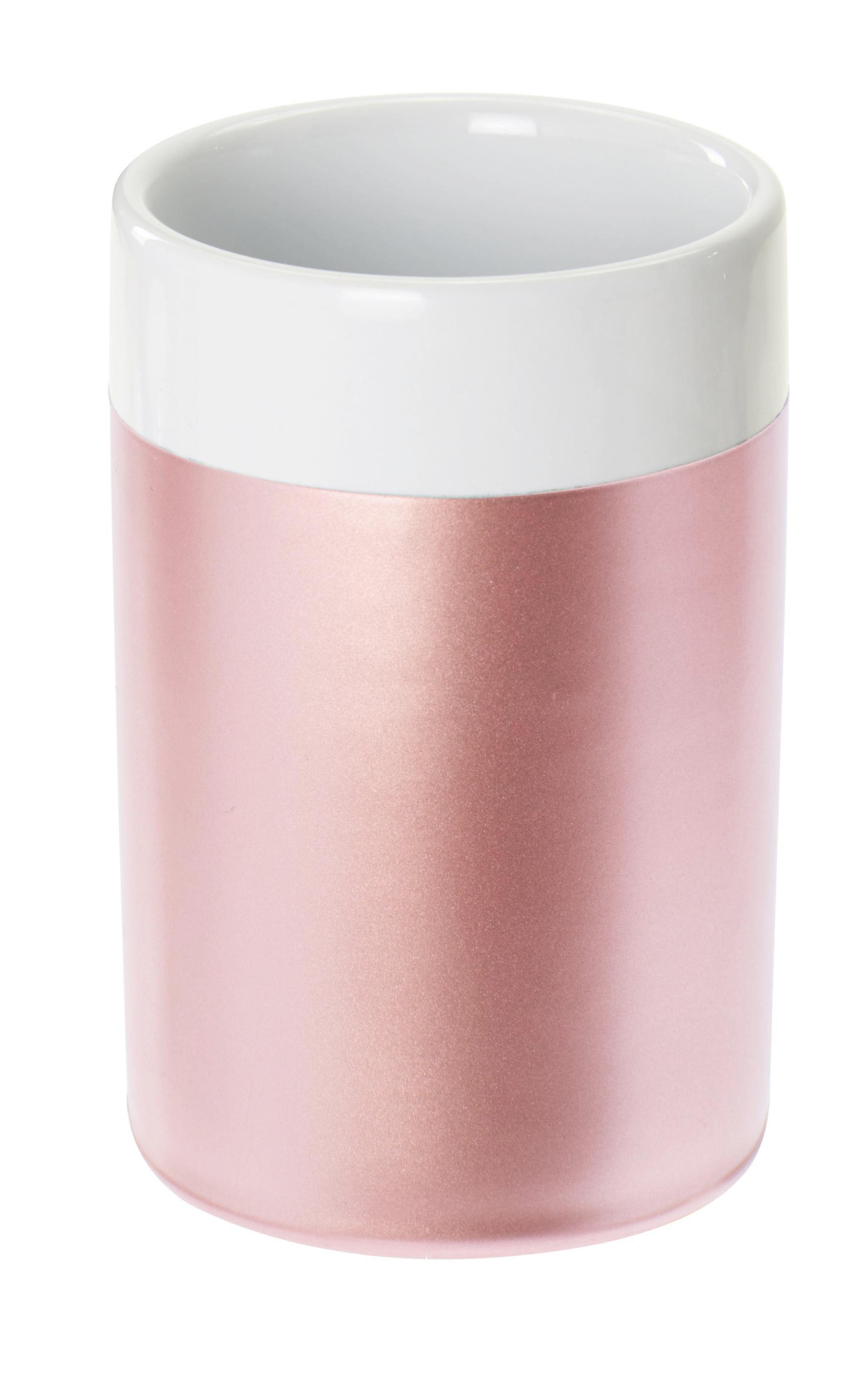 KUPAONSKA ČAŠA - roza, Basics, keramika (6.5/10/6.5cm) - Celina