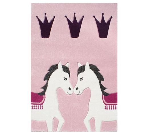 KINDERTEPPICH  120/180 cm  Multicolor, Rosa   - Multicolor/Rosa, Basics, Textil (120/180cm)