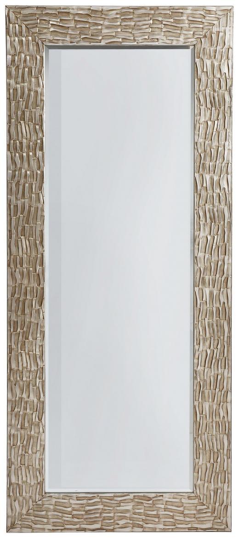 SPIEGEL Silberfarben - Silberfarben, LIFESTYLE, Glas/Holzwerkstoff (75/175/3,5cm) - Xora