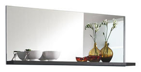 SPIEGEL 120/50/20 cm - Graphitfarben, Design, Glas/Holzwerkstoff (120/50/20cm) - Xora