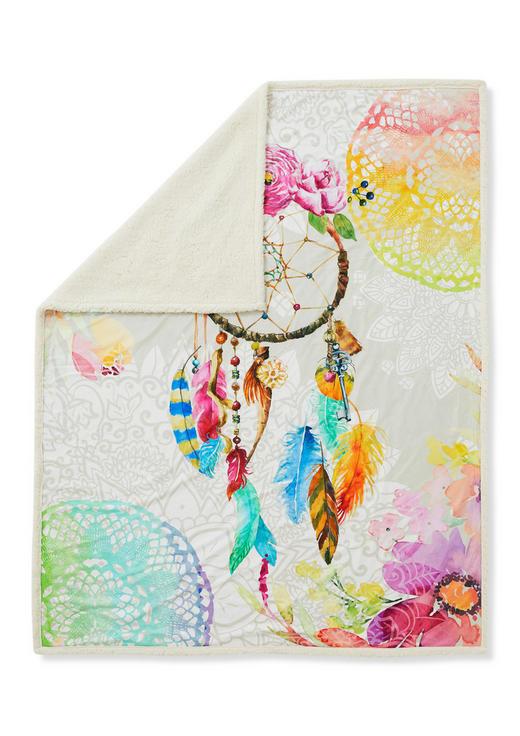 DECKE 130/160 cm Multicolor - Multicolor, Textil (130/160cm)