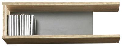 WANDREGAL 65/19,4/24 cm  - Eichefarben/Anthrazit, Design, Holzwerkstoff (65/19,4/24cm) - Carryhome