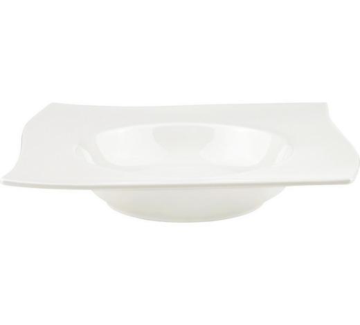 TALÍŘ NA PASTU, porcelán - bílá, Design, keramika (24,3/24,3cm) - Novel