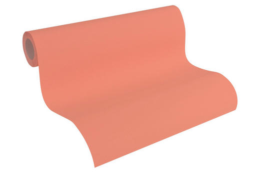 VLIESTAPETE 10,05 - Rot/Orange, Design, Textil (53/1005cm) - Esprit