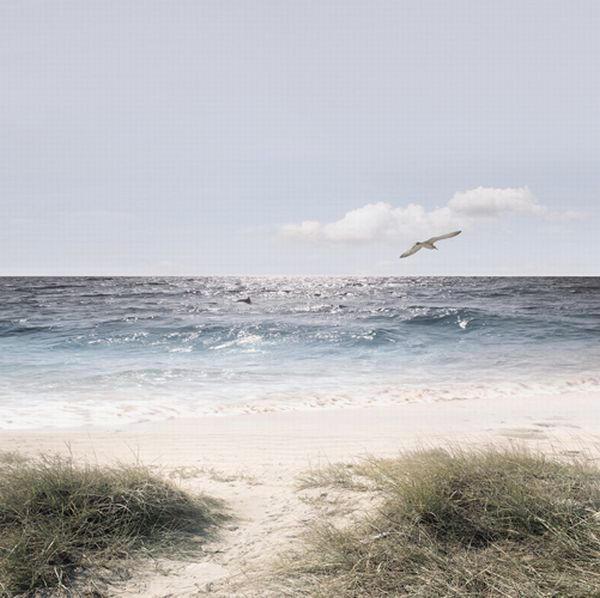 Landschaft & Natur, Strand & Meer GLASBILD - Multicolor, Basics, Glas (20/20/1,70cm) - EUROGRAPHICS