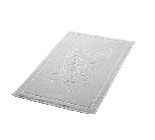 BADTEPPICH in Weiß 50/70 cm - Weiß, Trend, Textil (50/70cm) - Kleine Wolke