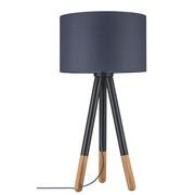 SVJETILJKA STOLNA - siva/med, Lifestyle, tekstil/drvo (70/35cm) - PAULMANN
