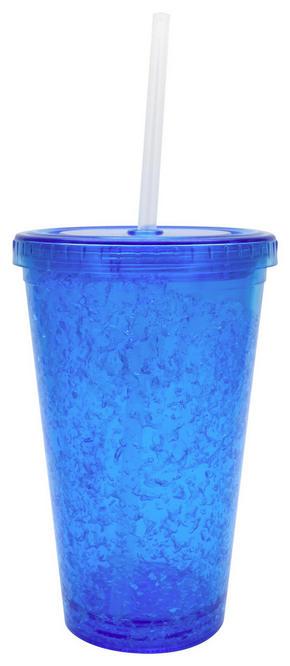 MUGG - blå, Basics, plast (10/16cm) - Boxxx