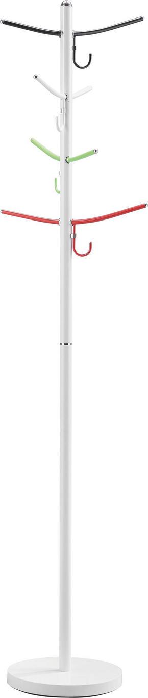 KLÄDHÄNGARE - vit/röd, Design, metall (30,5/178cm) - Carryhome