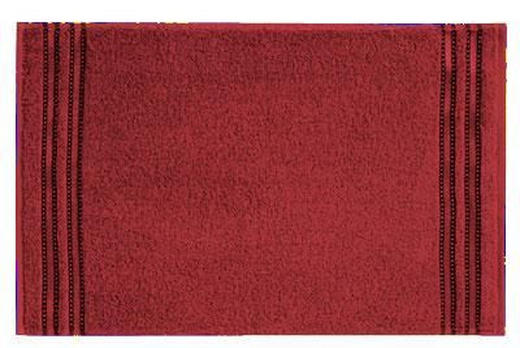 GÄSTETUCH 30/50 cm - Rot, Basics, Textil (30/50cm) - VOSSEN
