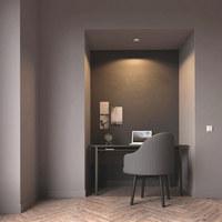 LED-EINBAUSPOT HUE MILLISKIN - Weiß, Design, Kunststoff (9/9cm) - Philips