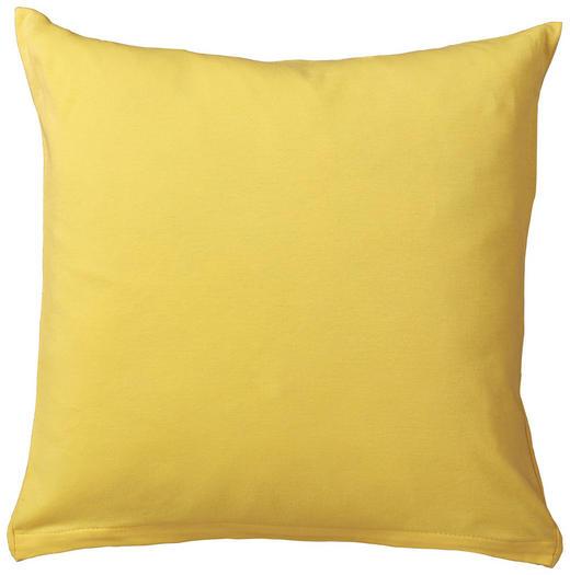 KISSENHÜLLE Gelb 80/80 cm - Gelb, Basics, Textil (80/80cm) - SCHLAFGUT