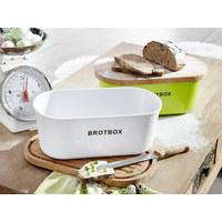 BROTBOX - Hellbraun/Weiß, Basics, Holz/Kunststoff (36/20/14,5cm) - Justinus