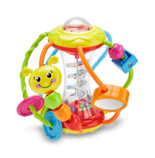 AKTIVITETSLEKSAK - multicolor, Basics, plast (15,5/15,5/16,3cm) - MY BABY LOU