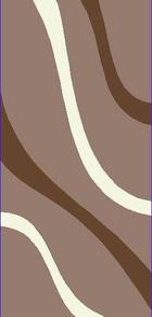 TEPIH VISOKOG FLORA - smeđa, Basics, tekstil (120/170cm) - BOXXX