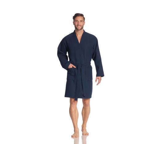 BADEMANTEL XXL  - Blau, Basics, Textil (XXLnull) - Vossen