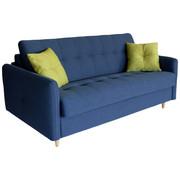 TROSED  limeta, modra les, leseni material, tekstil - naravna/modra, Design, leseni material/tekstil (187/105/89/110cm) - Novel