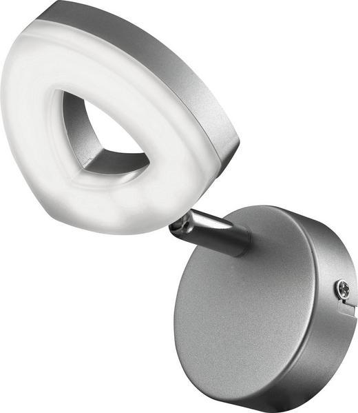 LED REFLEKTOR TRIANGEL - srebrna, Design, kovina/umetna masa (10/13,5cm) - Boxxx