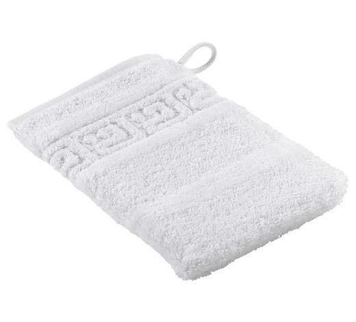 WASCHHANDSCHUH - Weiß, Basics, Textil (16/22cm) - Cawoe