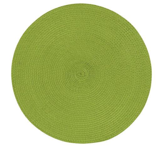TISCHSET 38/38 cm Textil - Grün, Basics, Textil (38/38cm) - Homeware