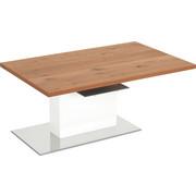COUCHTISCH in Holzwerkstoff, Metall 100/65/41 cm - Eichefarben/Weiß, Design, Holzwerkstoff/Metall (100/65/41cm) - Invivus