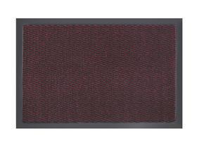 DÖRRMATTA - röd, Klassisk, textil/plast (40/60cm) - Boxxx