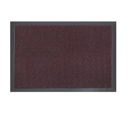 DVEŘNÍ ROHOŽKA, červená - červená, Konvenční, textil/umělá hmota (40/60cm) - Boxxx