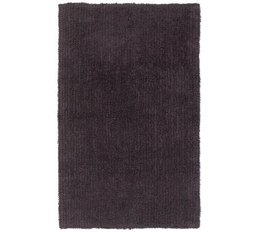 BADEMATTE in Anthrazit 60/100 cm  - Anthrazit, Natur, Textil (60/100cm) - Linea Natura