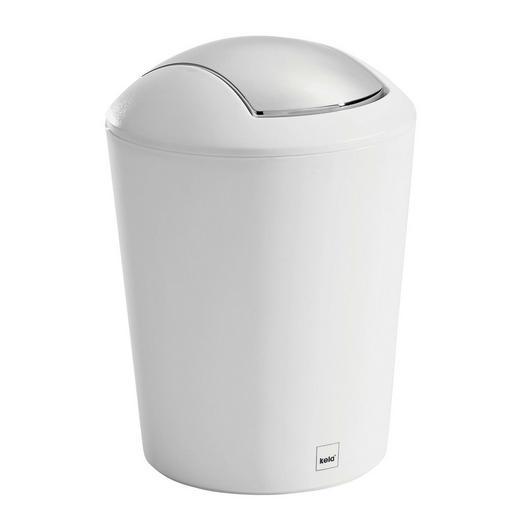 TISCHABFALLEIMER 1,7 L - Weiß, Basics, Kunststoff (15/21cm) - Kela